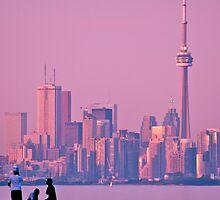 Toronto Skyline at Dusk by Jessica Dzupina