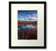 Sky Strip Framed Print