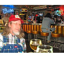 William Bryan Massey III @ Fred's Texas Cafe Photographic Print