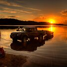 Getting It Wet - Narrabeen Lakes, Sydney - The HDR Experience by Philip Johnson
