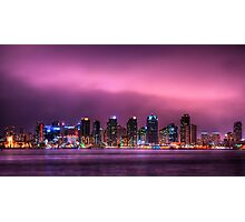 San Diego By Night Photographic Print