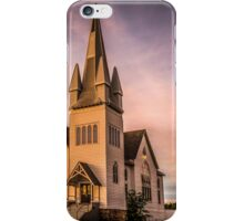 Church in Windsor, Nova Scotia iPhone Case/Skin