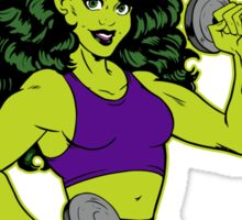 She-Hulk Athletic Club Colorful Sticker