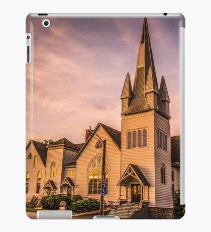Church in Windsor, Nova Scotia iPad Case/Skin
