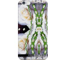 Fly with roses and wings into freedom iPhone Case/Skin