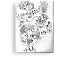 off by mortis ghost Canvas Print