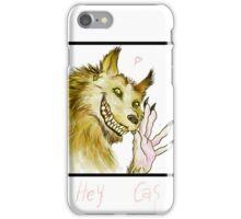 Werewolf!Dean waving iPhone Case/Skin