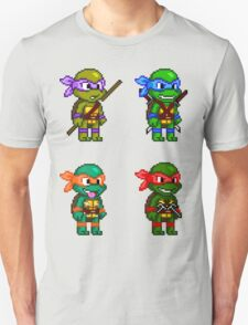 Teenage Mutant Ninja Turtles Pixels T-Shirt