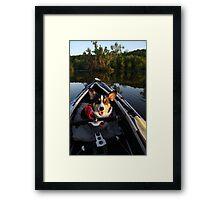 Welcome Aboard! Framed Print