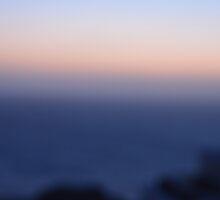 Santorini sunset colours by AHigginsPhoto