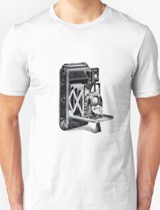 Vintage Camera Line Art T-Shirt
