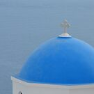 Santorini dome by AHigginsPhoto