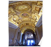 The Golden Staircase, Doges Palace, Venice Poster