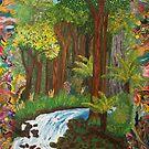 Rainforest - vivid by Margo Humphries