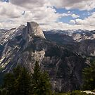 Half Dome as Seen from Glacier Point by ejlinkphoto