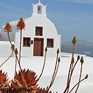 Santorini church by AHigginsPhoto