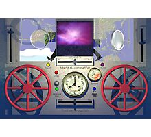 MSTC ( Manipulation of space - time continuum) machine main control panel. Photographic Print