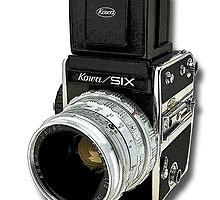 1960s Kowa 6 Camera by Kawka