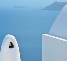 Santorini view by AHigginsPhoto