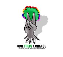 give trees a chance Photographic Print