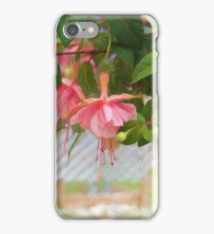 A Fuschia In The Garden iPhone Case/Skin