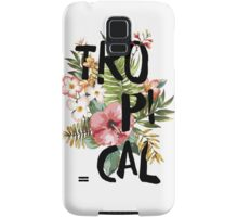 Tropical I Samsung Galaxy Case/Skin