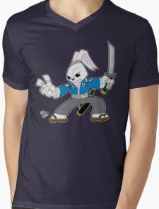 Toon Usagi Mens V-Neck T-Shirt