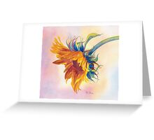 A Golden Touch Greeting Card