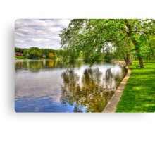 Rock River Canvas Print