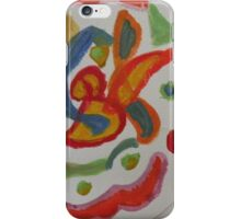 a colorful design iPhone Case/Skin