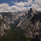 Half Dome as Seen from Glacier Point 2 by ejlinkphoto