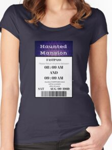 Mansion Fastpass Women's Fitted Scoop T-Shirt