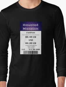 Mansion Fastpass Long Sleeve T-Shirt