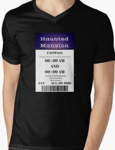 Mansion Fastpass Mens V-Neck T-Shirt