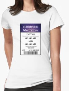 Mansion Fastpass Womens Fitted T-Shirt