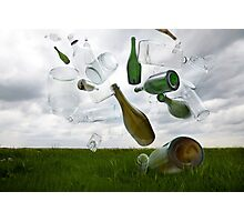 Glass Recycling Photographic Print