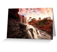 manning gorge falls Greeting Card