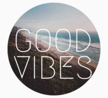 Good Vibes Cool Beach Tumblr Hipster Print by Big Kidult