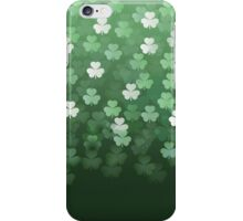Raining Shamrocks iPhone Case/Skin