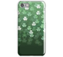 Raining Shamrocks iPhone Case/Skin