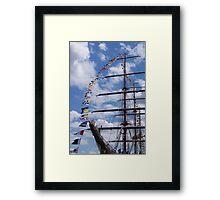 Tall Ships - Philadelphia 2015 Framed Print