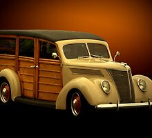 1937 Ford Woody by TeeMack