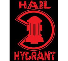 HAIL HYDRANT Photographic Print