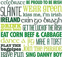 Rules for St Patricks Day Photographic Print