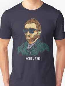 Van Gogh: Master of the Selfie T-Shirt