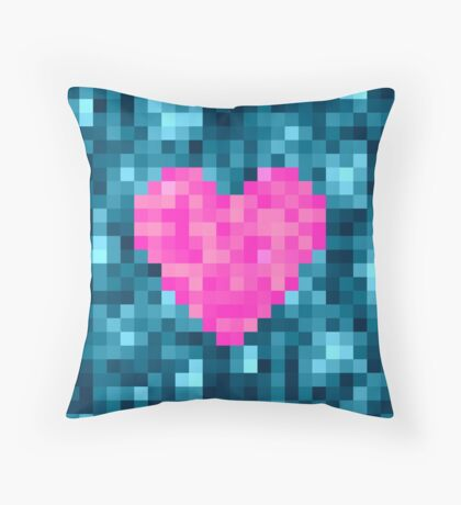 I Love Every Pixel of You Throw Pillow