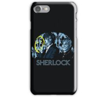 Sherlock - A Study in Blue iPhone Case/Skin