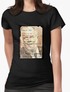 Rush Limbaugh is right Womens Fitted T-Shirt