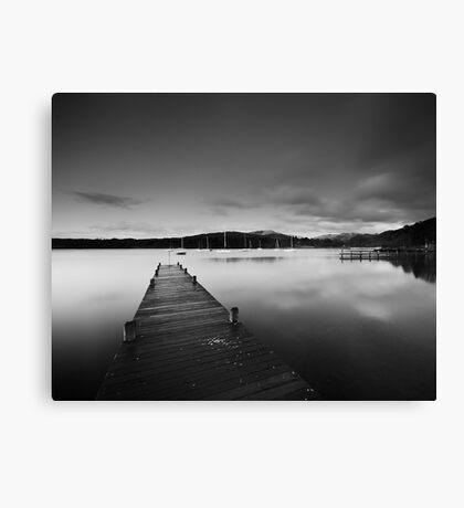Lake Windemere B&W Canvas Print