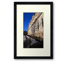 Basilica Beauty Framed Print